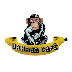 Logotipo do Banana Café